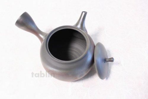 Other Images2: Tokoname yaki ware Japanese tea pot Gyokko ceramic tea strainer hogama 480ml