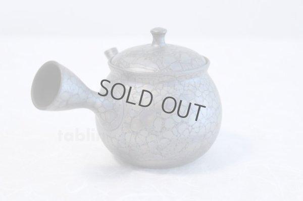 Photo2: Tokoname yaki ware Japanese tea pot Shoryu Tenmokuk ceramic tea strainer 200ml