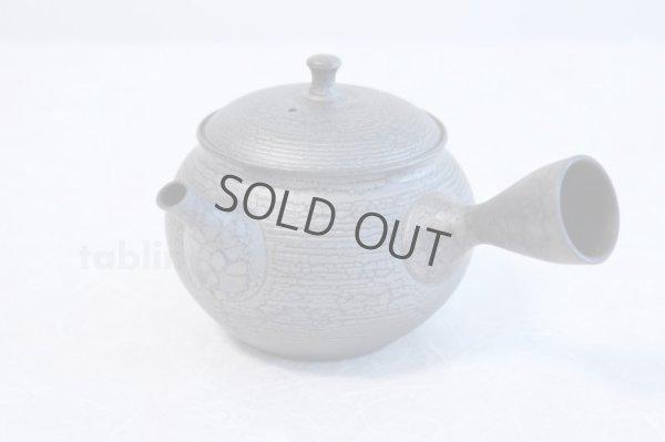 Photo3: Tokoname ware Japanese tea pot kyusu ceramic strainer YT Shoryu tenmoku 390ml