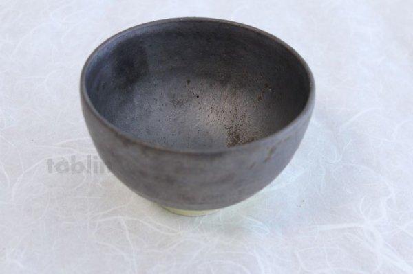Photo3: Kiyomizu porcelain Japanese matcha tea bowl yellow wan Daisuke Tokinoha