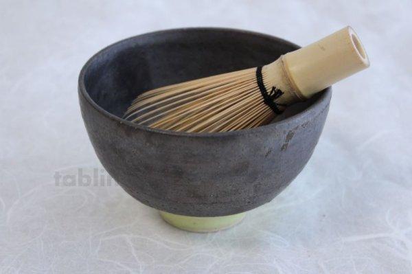 Photo4: Kiyomizu porcelain Japanese matcha tea bowl yellow wan Daisuke Tokinoha