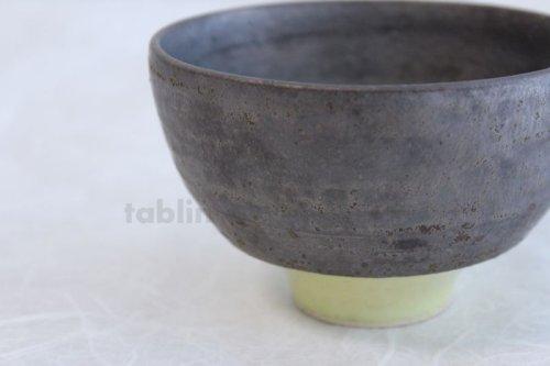 Other Images3: Kiyomizu porcelain Japanese matcha tea bowl yellow wan Daisuke Tokinoha