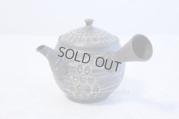 Photo2: Tokoname ware Japanese tea pot kyusu ceramic strainer YT Kenji amime miga 380ml