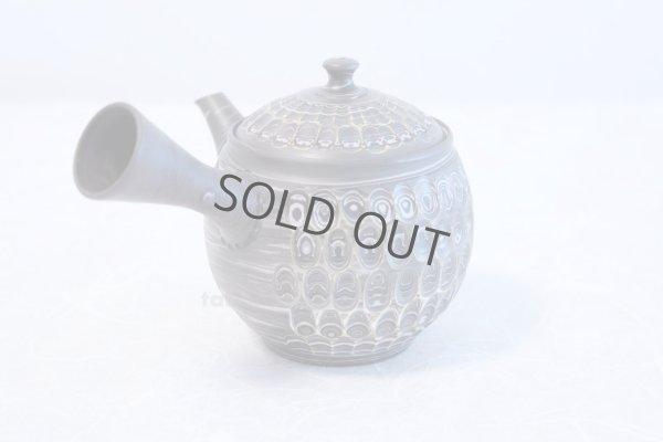 Photo3: Tokoname ware Japanese tea pot kyusu ceramic strainer YT Kenji amime miga 380ml