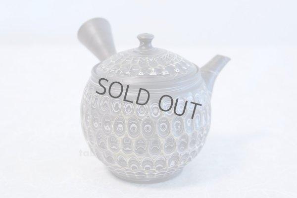Photo4: Tokoname ware Japanese tea pot kyusu ceramic strainer YT Kenji amime miga 380ml