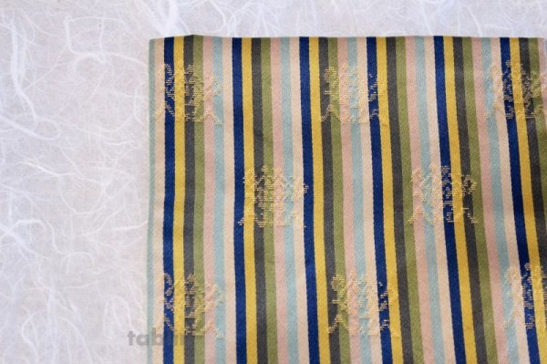 Photo2: Kobukusa Japanese tea ceremony silk cloth Kitamura Tokusai meibutsu konparugire