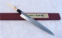 SAKAI TAKAYUKI Japanese knife Kasumitogi Yasuki white steel Sashimi any size