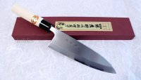 SAKAI TAKAYUKI Japanese knife Kasumitogi Yasuki white steel Deba any size