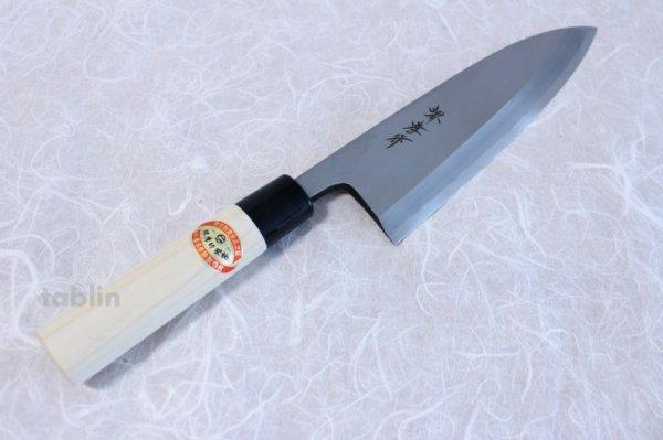 Photo2: SAKAI TAKAYUKI Japanese knife Kasumitogi Yasuki white steel Deba any size