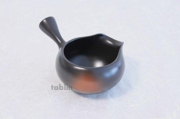 Photo5: Tokoname yaki ware Japanese Yusamashi tea tool for Sencha kurodei ha 300ml