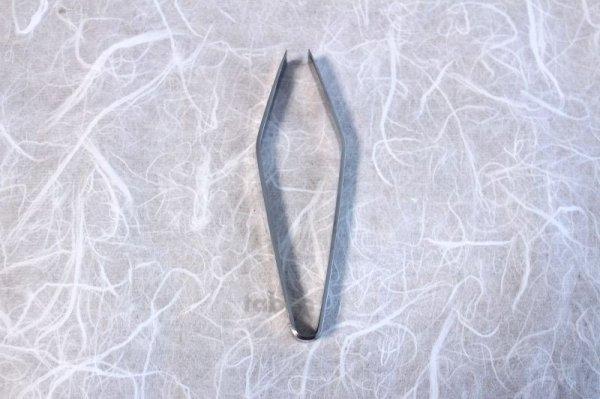 Photo3: Stainless Japanese Fish Bone Tweezers 105mm
