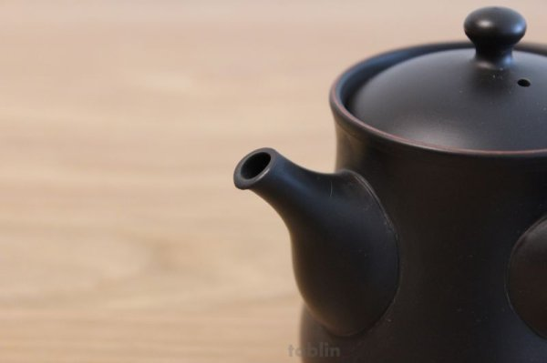 Photo4: Tokoname yaki ware Japanese tea pot Komatu pt ceramic tea strainear 220ml