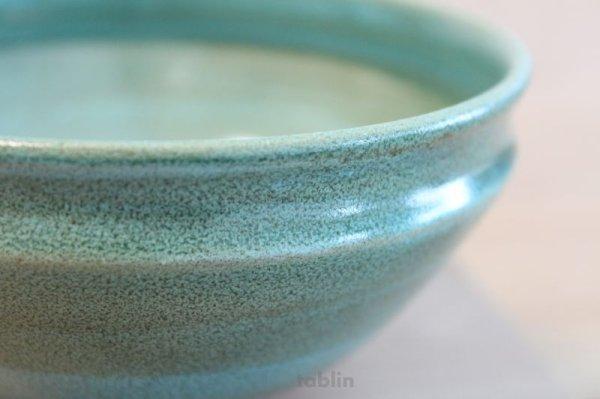 Photo3: Mino yaki ware Japanese tea bowl Ryoku kessho kyo tei chawan Matcha Green Tea