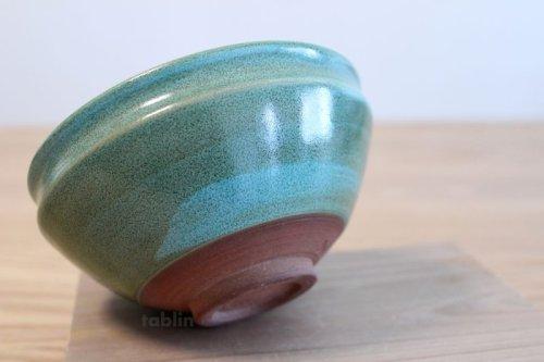 Other Images2: Mino yaki ware Japanese tea bowl Ryoku kessho kyo tei chawan Matcha Green Tea