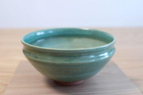 Other Images1: Mino yaki ware Japanese tea bowl Ryoku kessho kyo tei chawan Matcha Green Tea