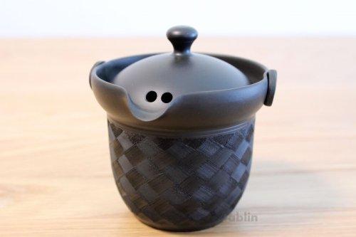 Other Images2: Tokoname yaki ware Japanese tea pot Kofu cover ceramic tea strainer 170ml
