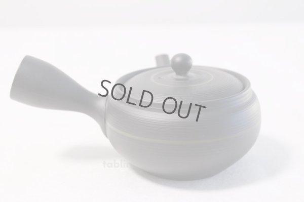 Photo3: Tokoname yaki ware Japanese tea pot Tosei maru ceramic tea strainer 210ml