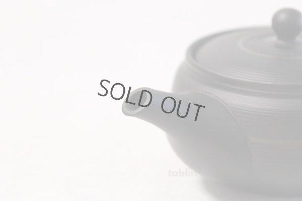 Photo4: Tokoname yaki ware Japanese tea pot Tosei maru ceramic tea strainer 210ml