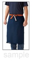 Photo5: Japanese store apron Maekake made in Japan W63 x H47cm any color