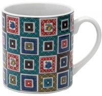 Kutani Porcelain Japanese mug coffee tea cup var. pattern D 7.5