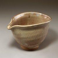 Hagi ware Senryuzan climbing kiln Japanese pottery sake bottle katakuchi H8.5cm