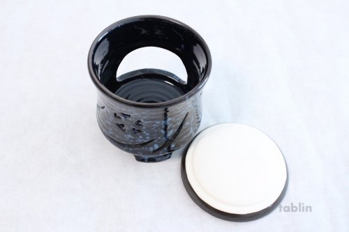Other Images2: Tokoname ware Japanese green tea aroma Tea Incense Burner Gunjyo