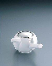Japanese ceramics Kyusu tea pot ZEROJAPAN white 230ml