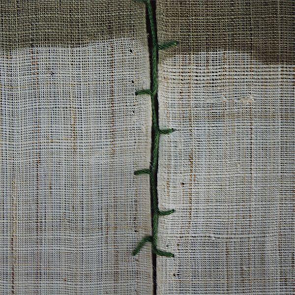 Noren Mitsuru Japanese linen door curtain kusakizome wisteria flower 88 x 120cm & Noren Mitsuru Japanese linen door curtain kusakizome wisteria flower ...
