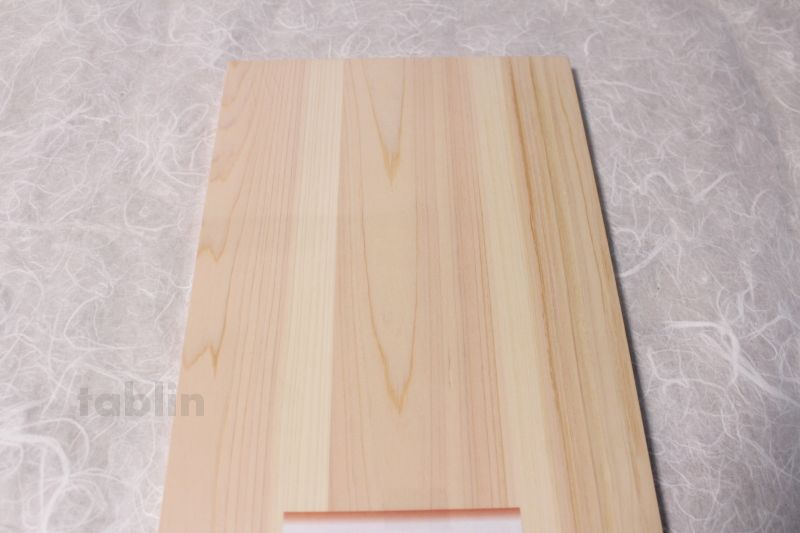 Japanese natural cypress Professional Cutting Board mokuso made in Japan  W360mm