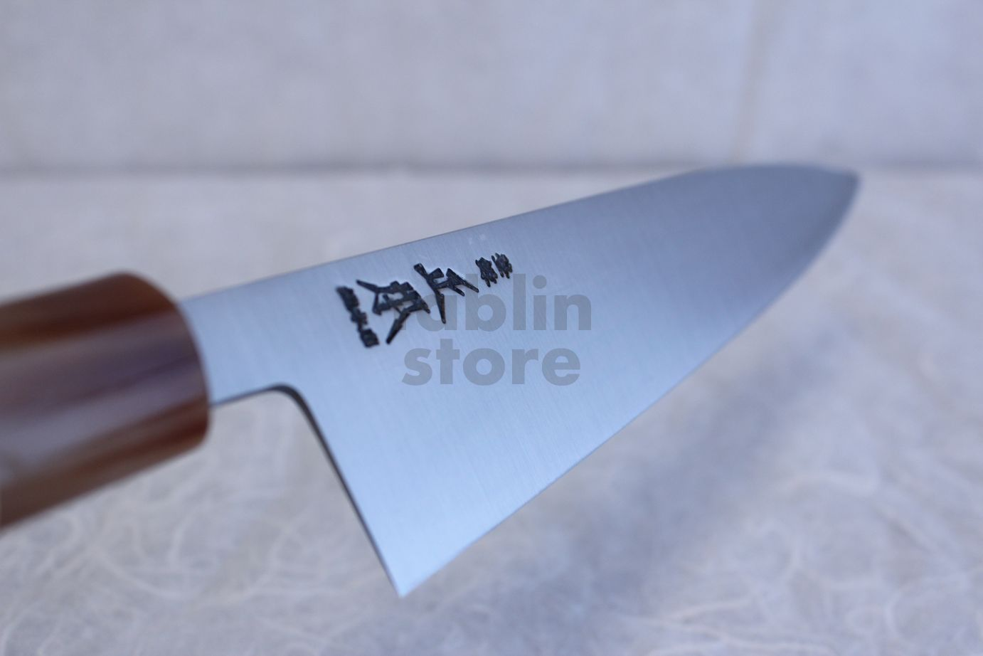Masamoto so honten Japanese knife Honkasumi Gyoku white steel Gyuto ...