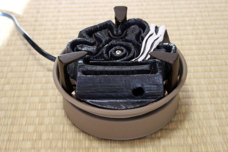 Electric charcoal heater Japanese tea ceremony Nonoda Gotoku cast ...