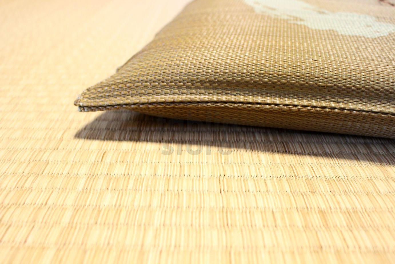 Japanese rush grass floor pillow cushion zabuton enso ozeki br 17 ...