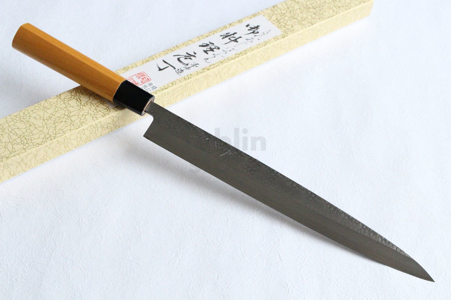 Yasuhiko Fujiwara Silver-3 steel Japanese Yanagiba Sashimi knife 270mm