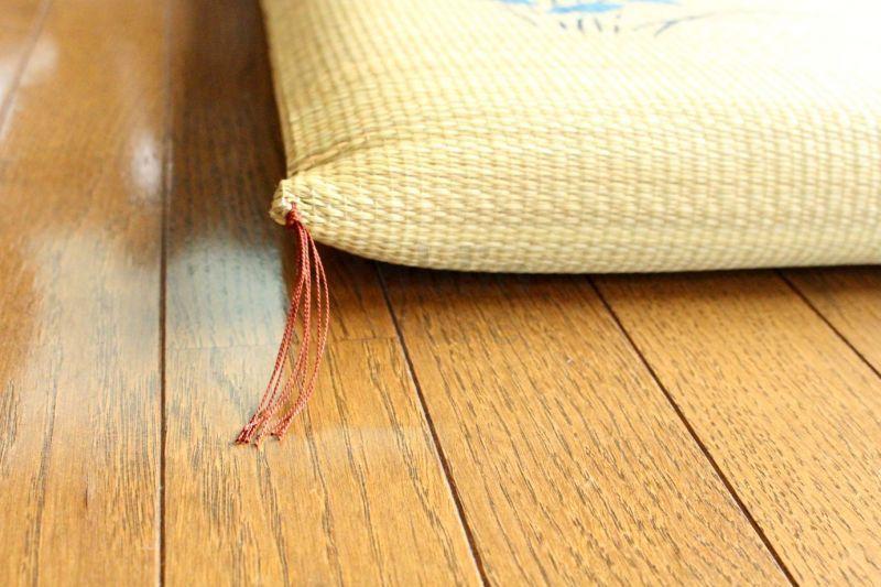 Japanese rush grass floor pillow cushion zabuton flower psdik br 55 ...