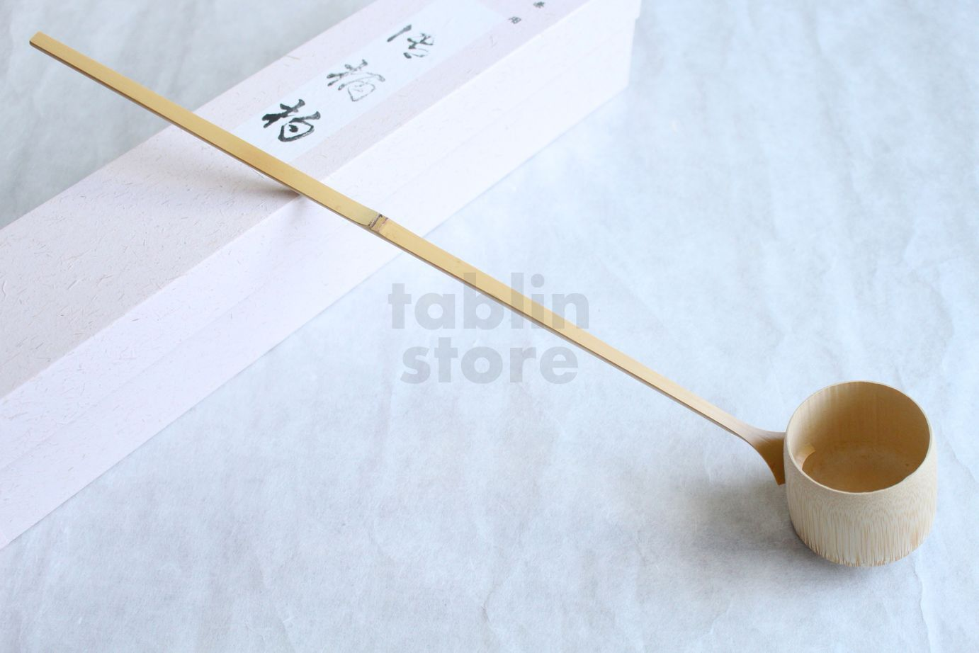 Japanese teathings bamboo ladle HISHAKU 41cm Furo-and-Ro Yasaburo ...