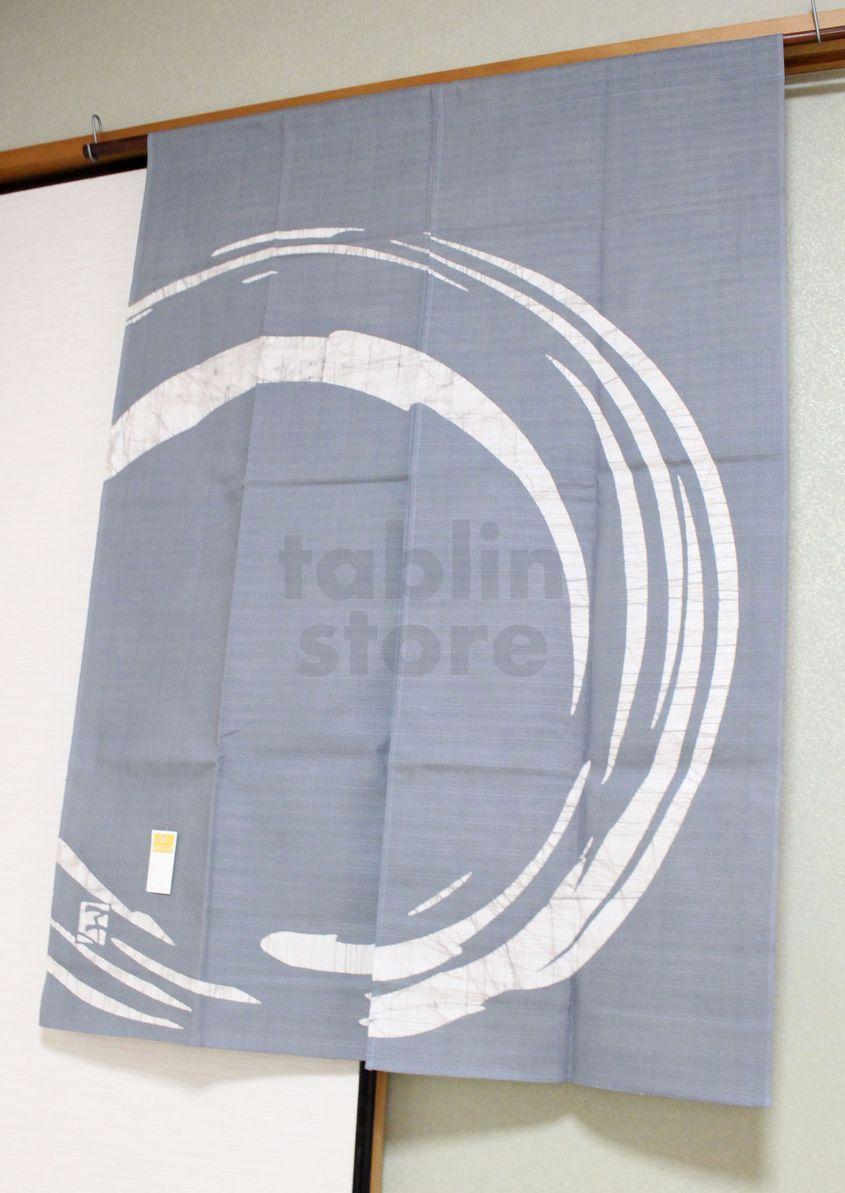 Kyoto Noren Sb Japanese Batik Door Curtain Maru Round
