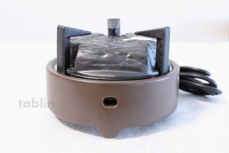 Electric charcoal heater Japanese tea ceremony Gotoku cast iron ...
